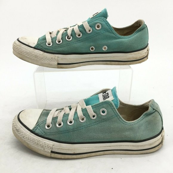 Converse Chuck Taylor All Star Sneakers Mens 6 Womens 8 Blue Canvas Low 108813F